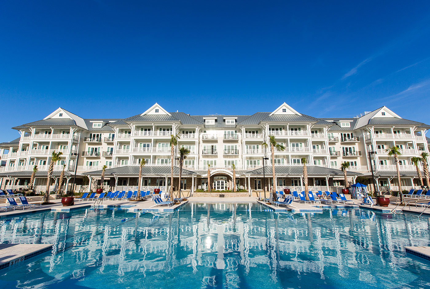 The Beach Club and it's Scenic Pool in Charleston South Carolina