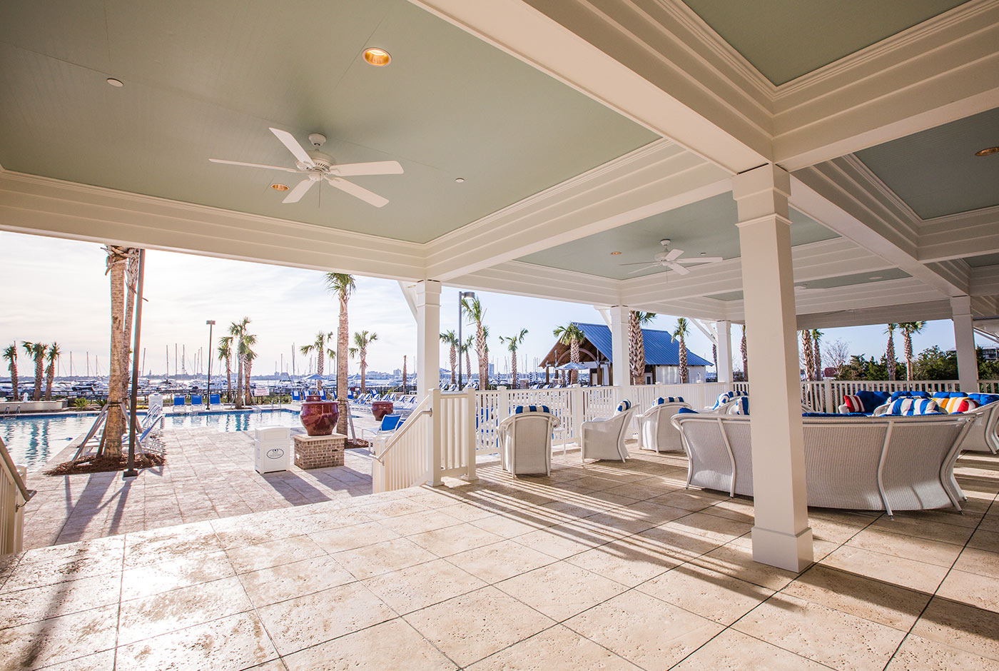 Event Space at The Beach Club in Charleston