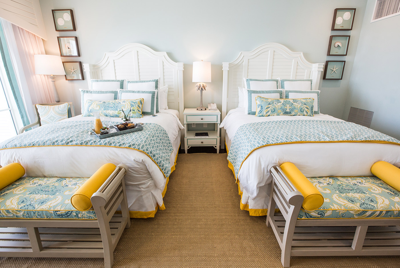 Hotel Room with Two Queen-Size Beds at The Beach Club in Charleston