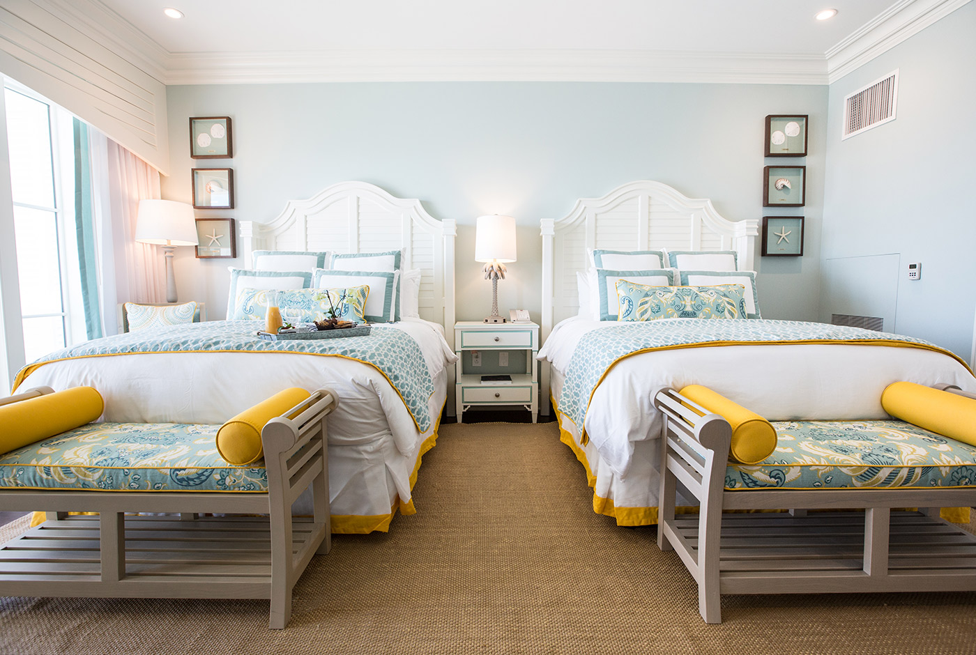 Two Queen-Size Beds at The Beach Club