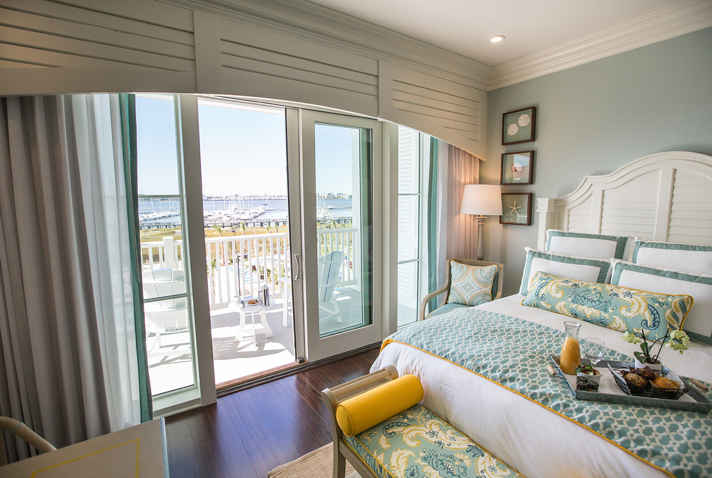 Charleston Hotel Room with a View of the Beach