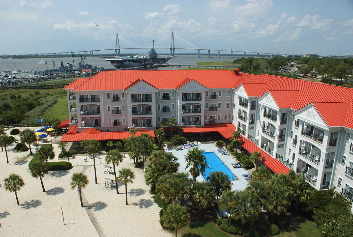 Bird's-Eye View of Harborside Resort