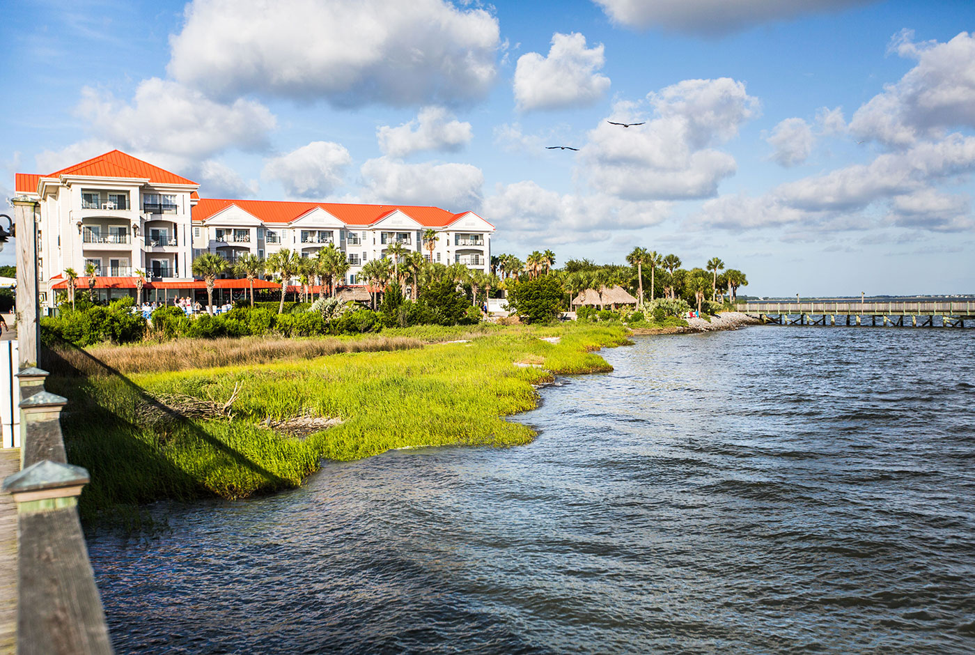 Harborside Resort Waterfront Hotel in Charleston