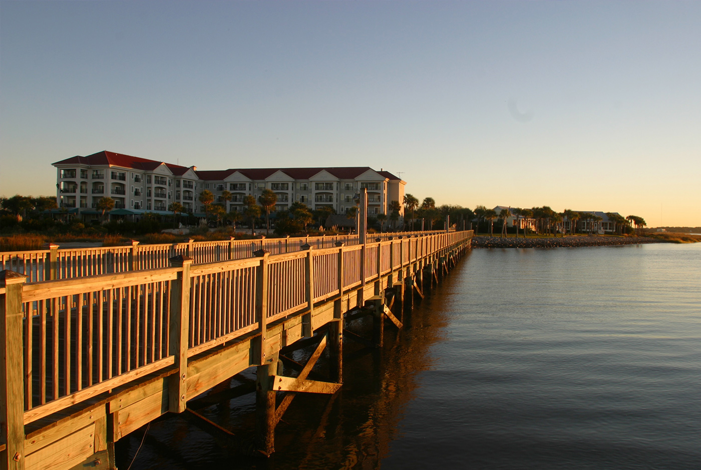 Harborside Resort Pier