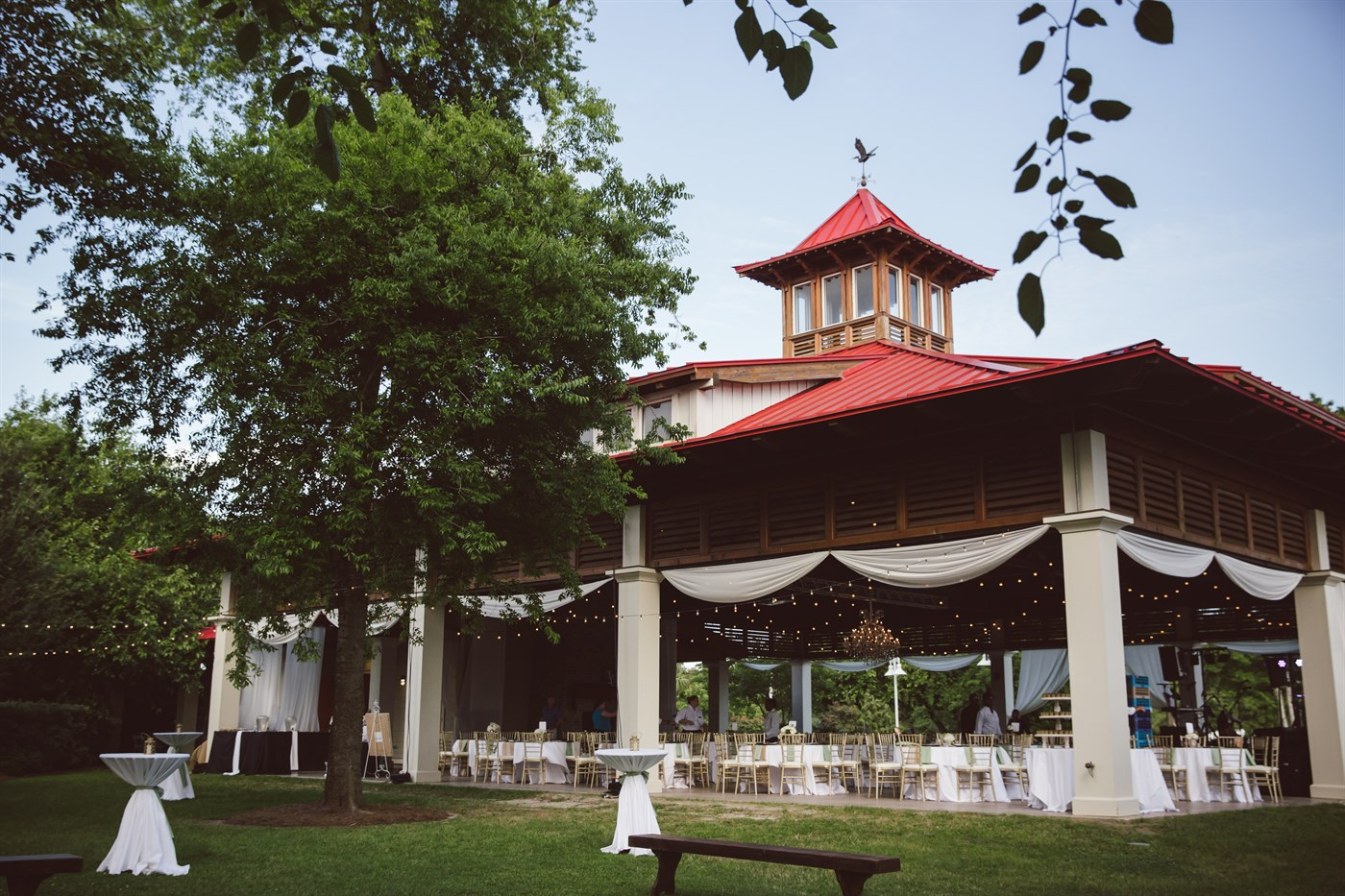Very Spacious and Covered Outdoor Event Venue